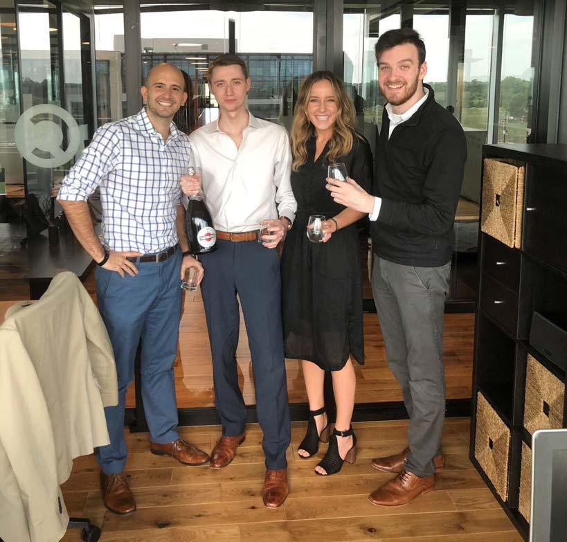 Digital Marketing Agency Team Celebration in Dallas-Fort Worth
