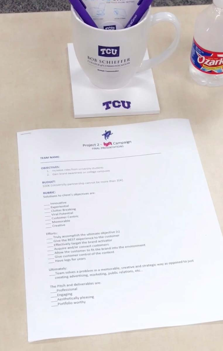 TCU Student Advertising Competition