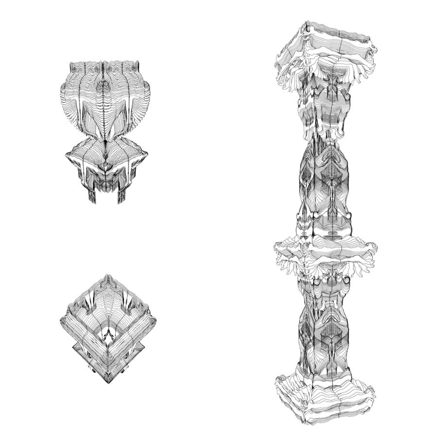 Timeblur Stambh 3d pillar 6