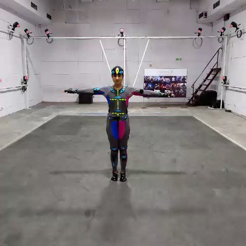 Motion Capture at Centroid studio Mumbai India