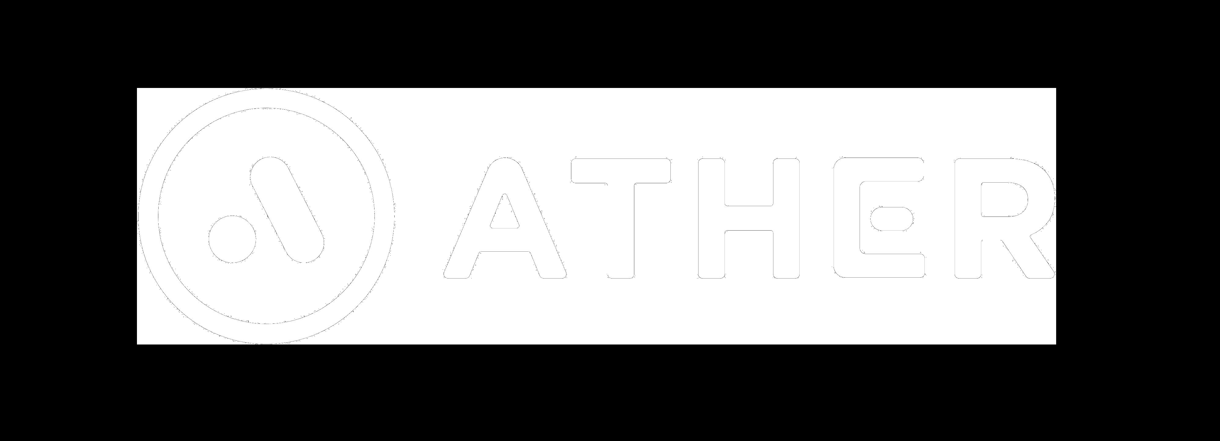 Ather Energy Logo White