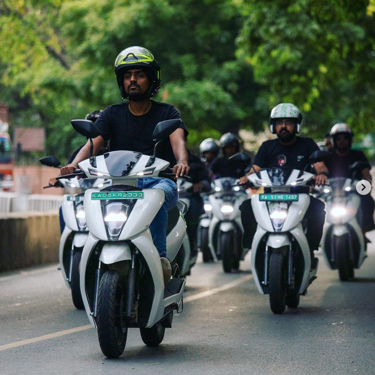 Ather Energy Riders from Instagram 2