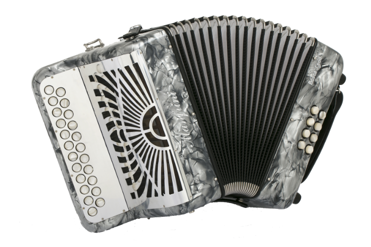 New Manfrini Bosca Ceoil Diatonic Melodeon For Sale.