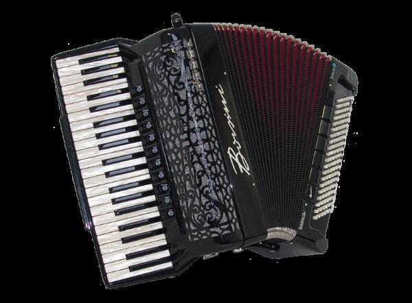 Used Borsini K10  Double Cassotto Piano Accordion For Sale.