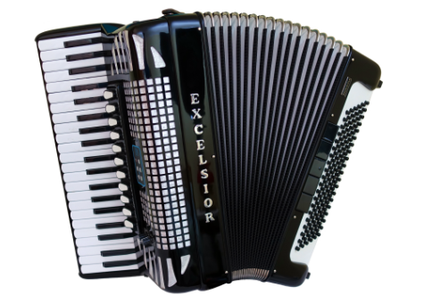 used accordion for sale Excelsior MidiVox LT