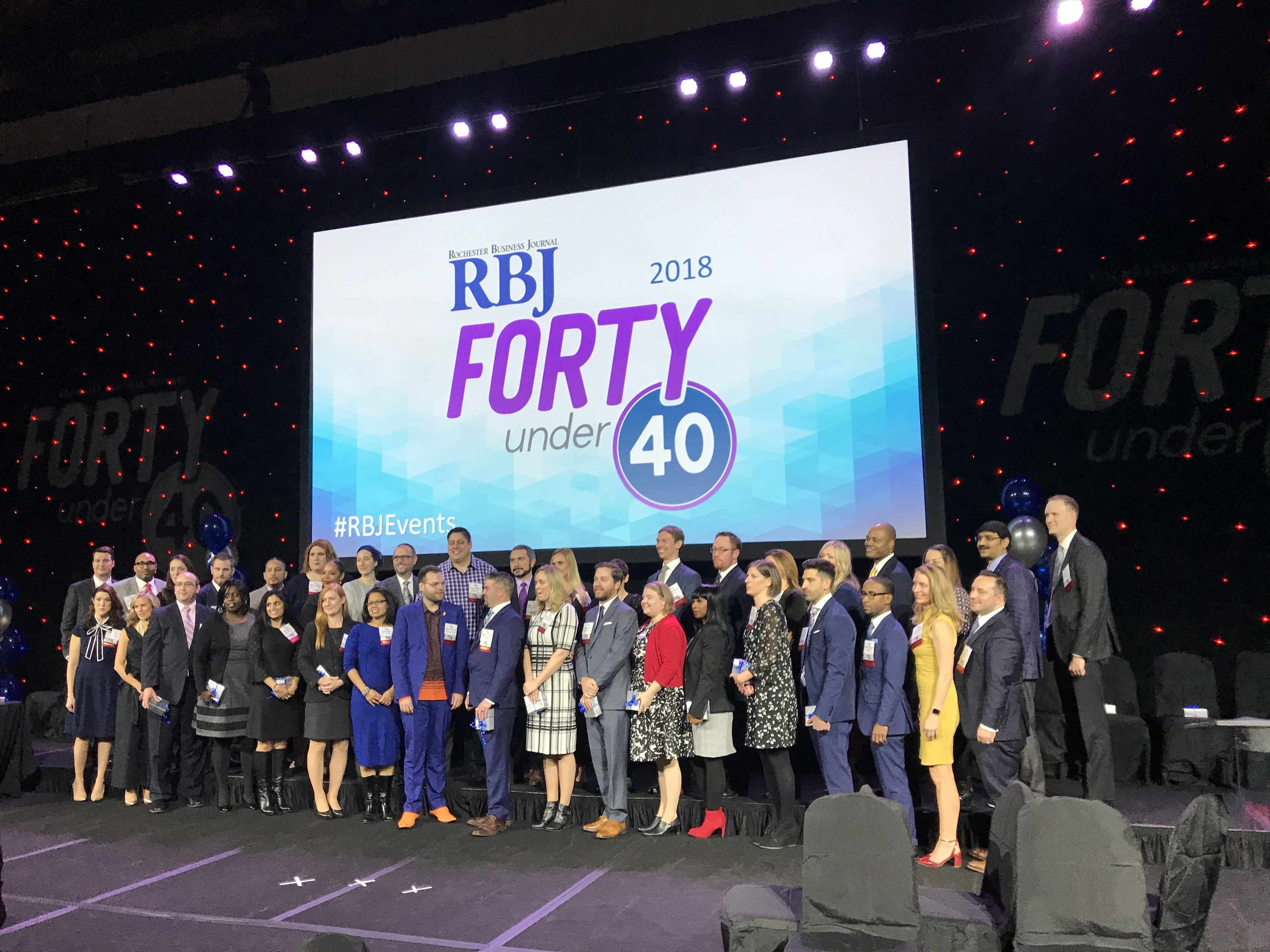 RBJ Forty Under 40 Award Ceremony