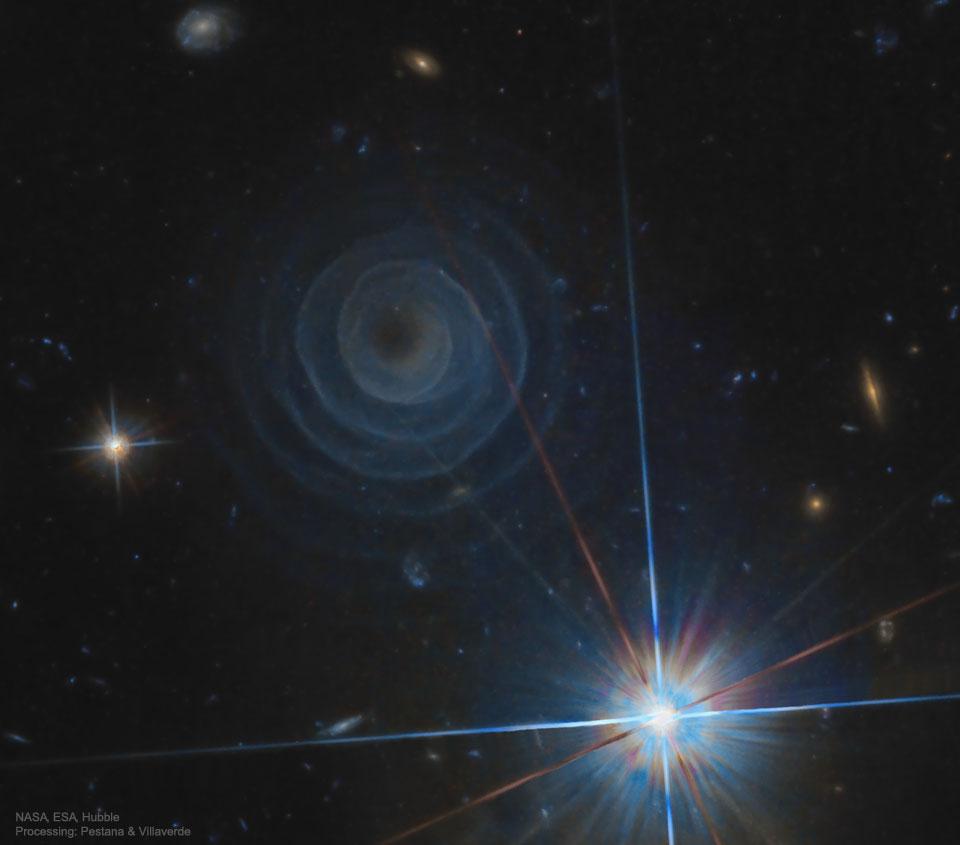 La spirale extraordinaire de LL Pegasi