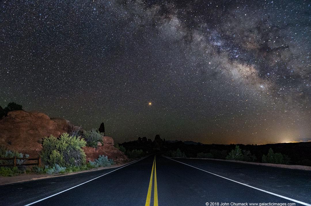 Route vers Mars
