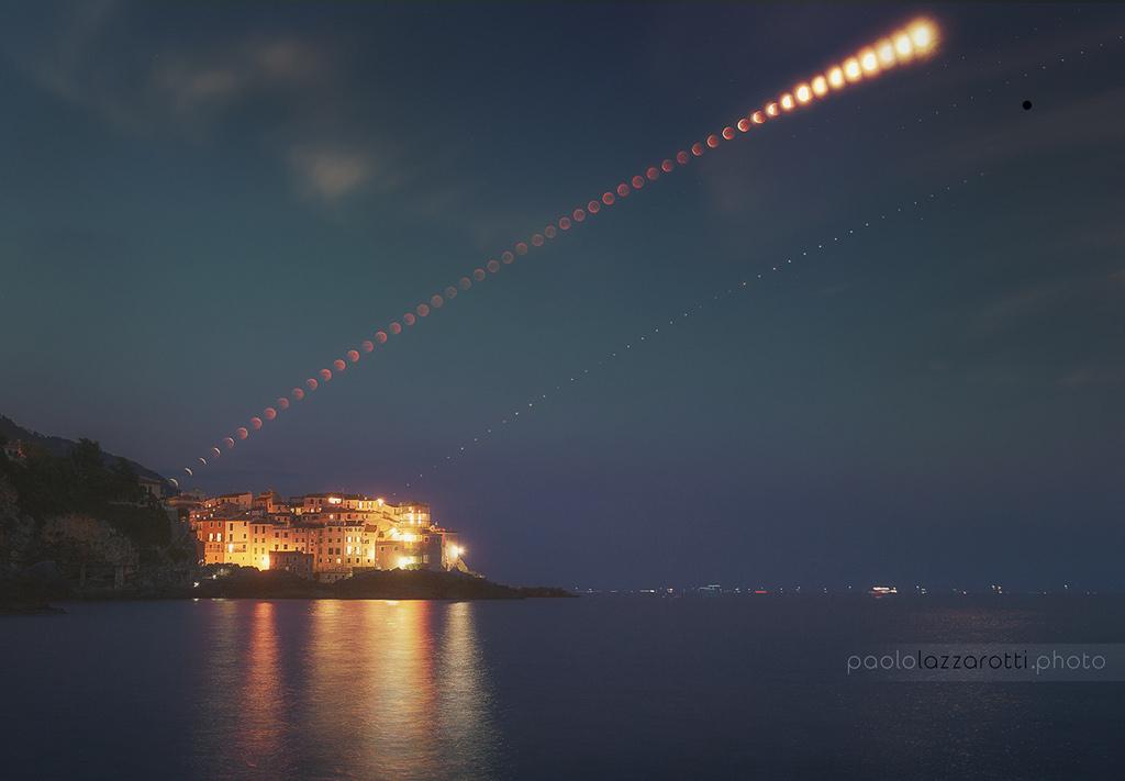 Éclipse sur le Golfe des Poètes