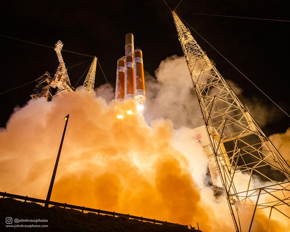 Lancement de la sonde Parker Solar Probe
