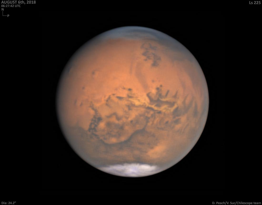 Mars de près