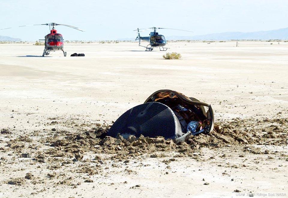 Crash de soucoupe volante dans le désert de l'Utah