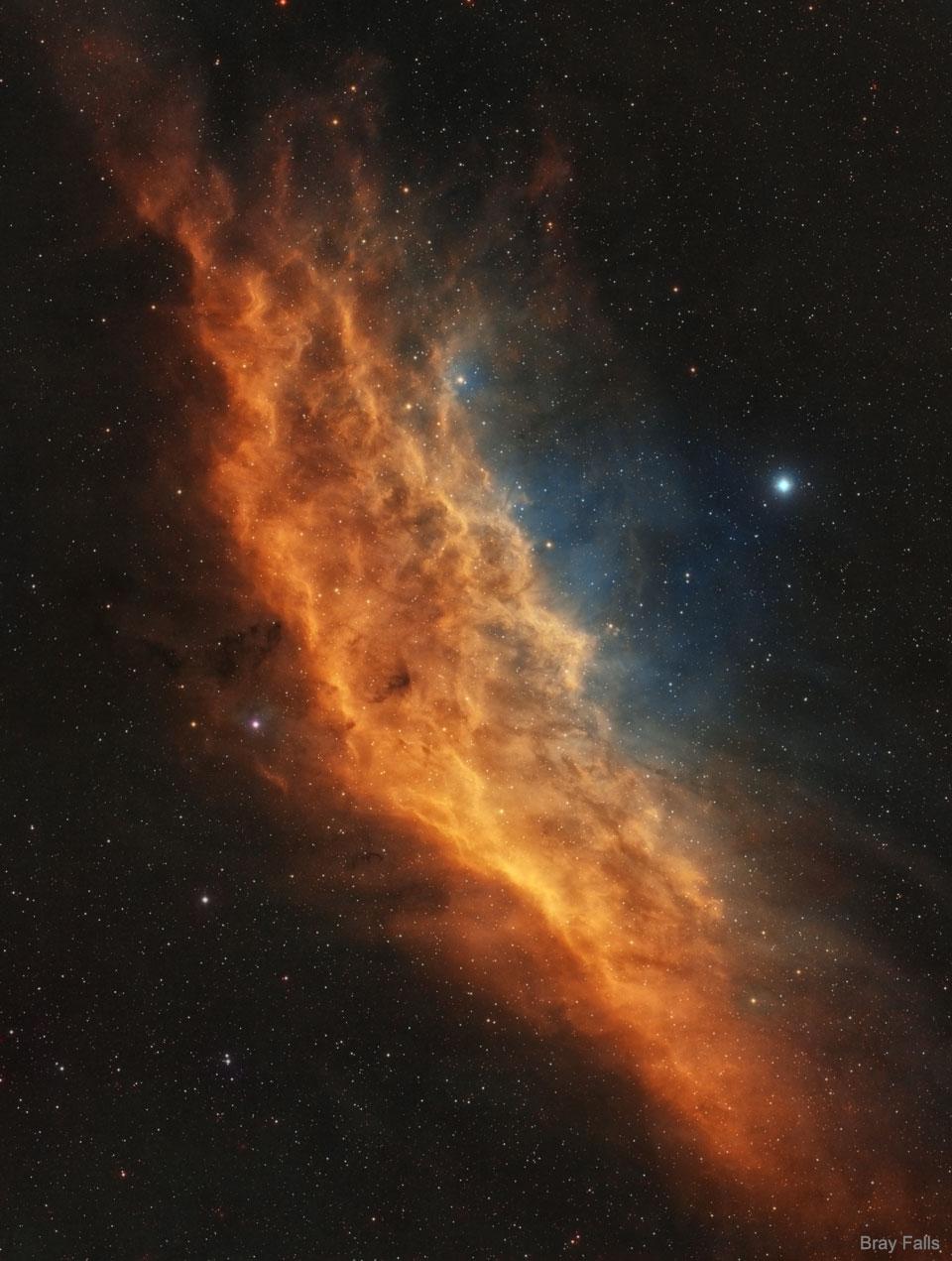 NGC 1499 : La nébuleuse Californie