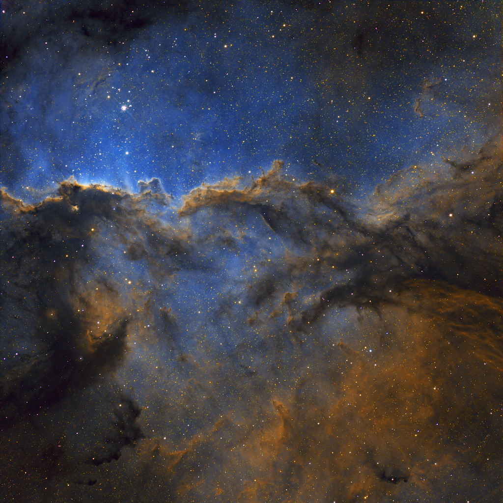 NGC 6188 : Les dragons de la constellation de l'Autel