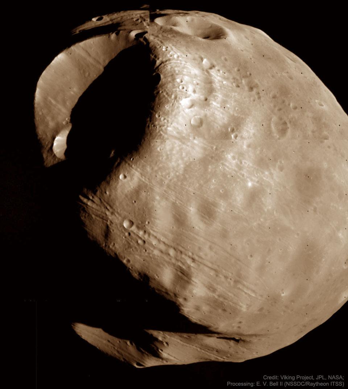 Phobos : Lune condamnée de Mars