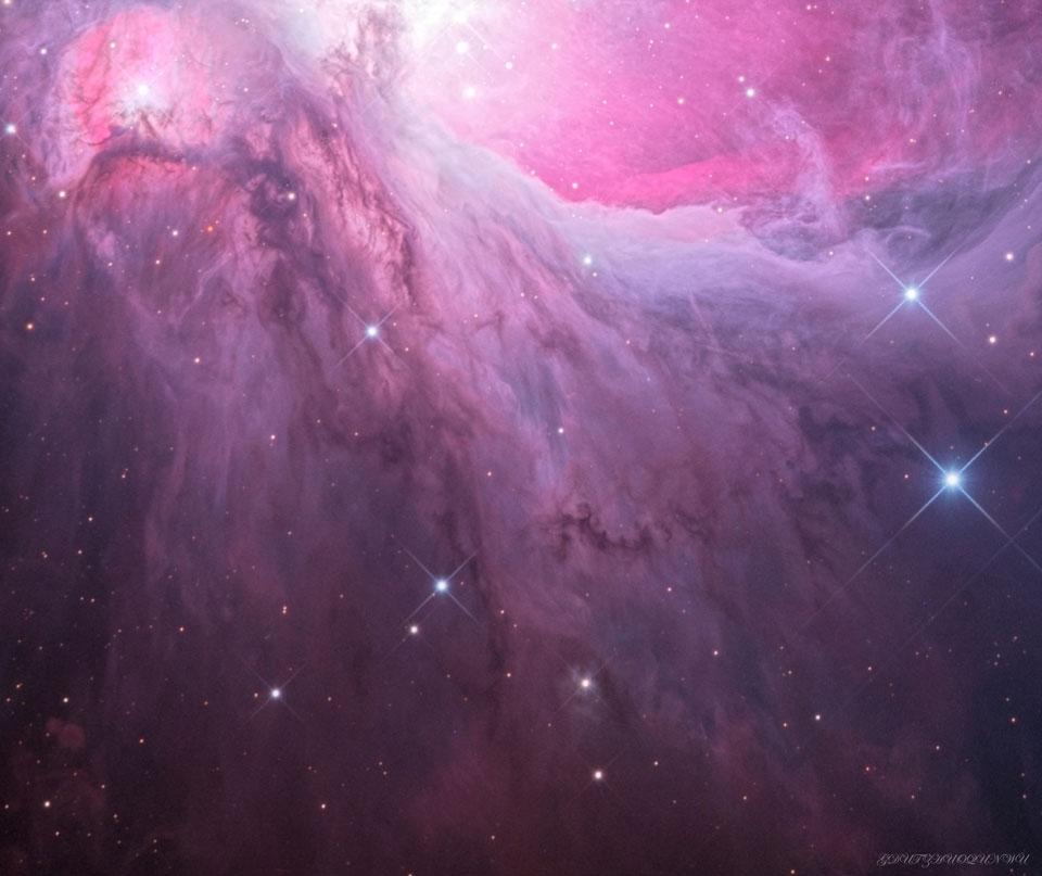 M43 : Les chutes d'Orion