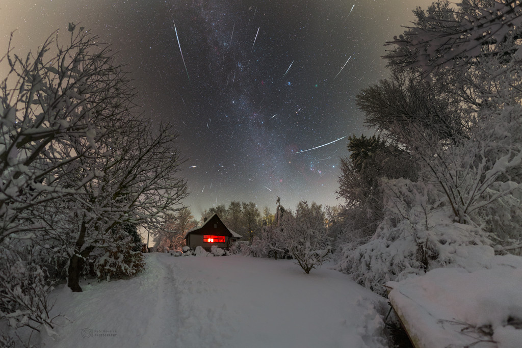 Une froide nuit de décembre