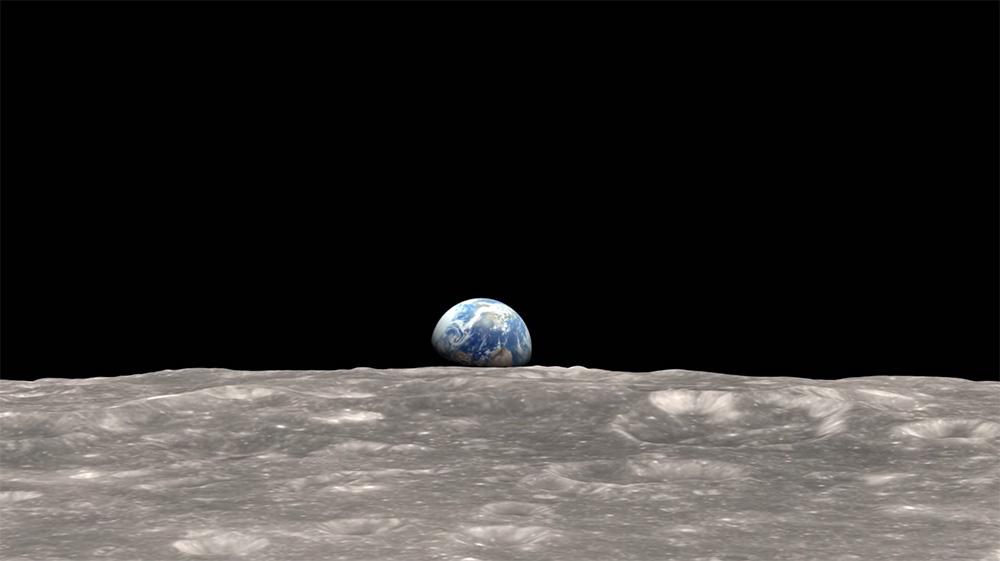 Lever de Terre : une reconstruction vidéo