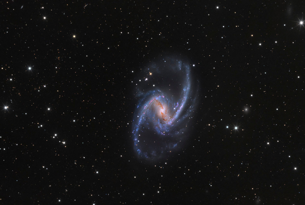 NGC 1365 : Univers insulaire majestueux