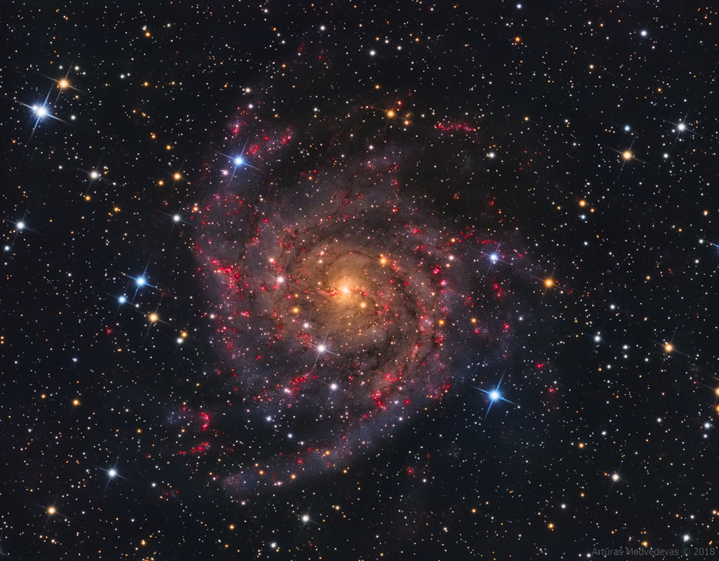 IC 342 : la galaxie cachée