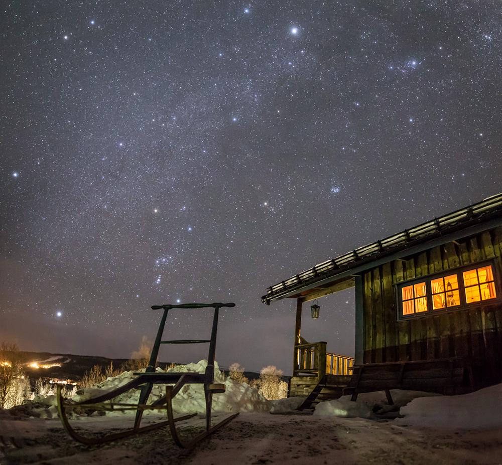 Chalet sous les étoiles