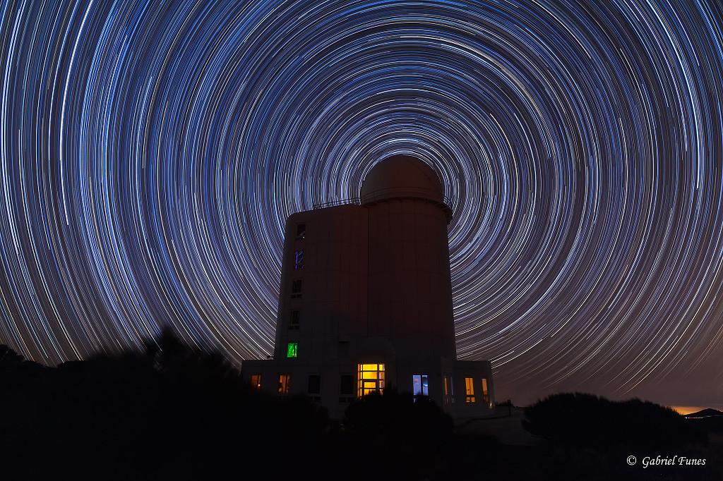 Sentiers d'étoiles circumpolaires