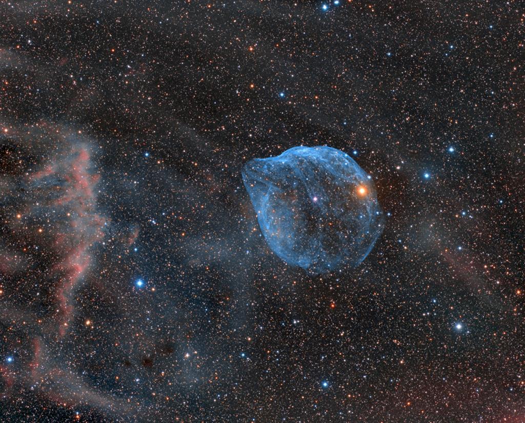 Sh2-308 : L'étoile bulle