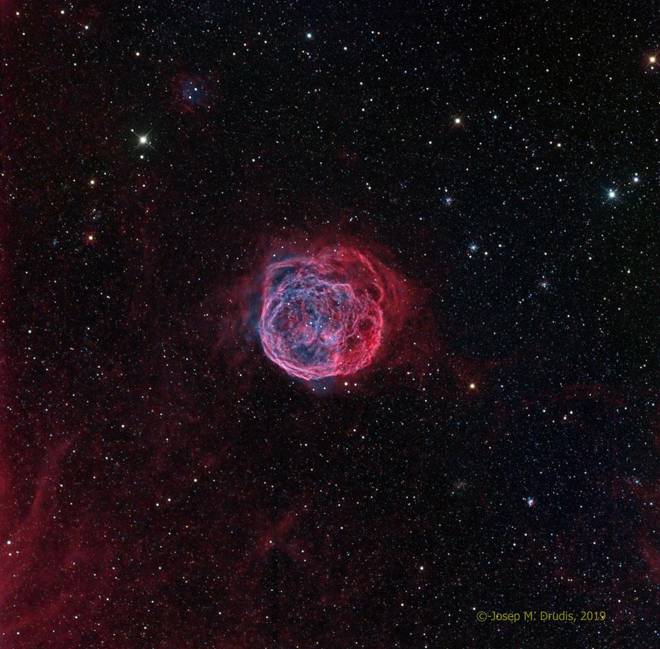 Henize 70 : Une super bulle dans le Grand Nuage de Magellan