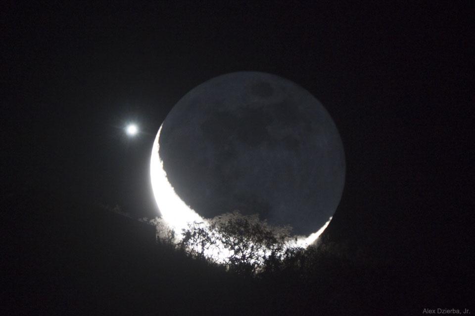 Appulse entre la Lune et Vénus