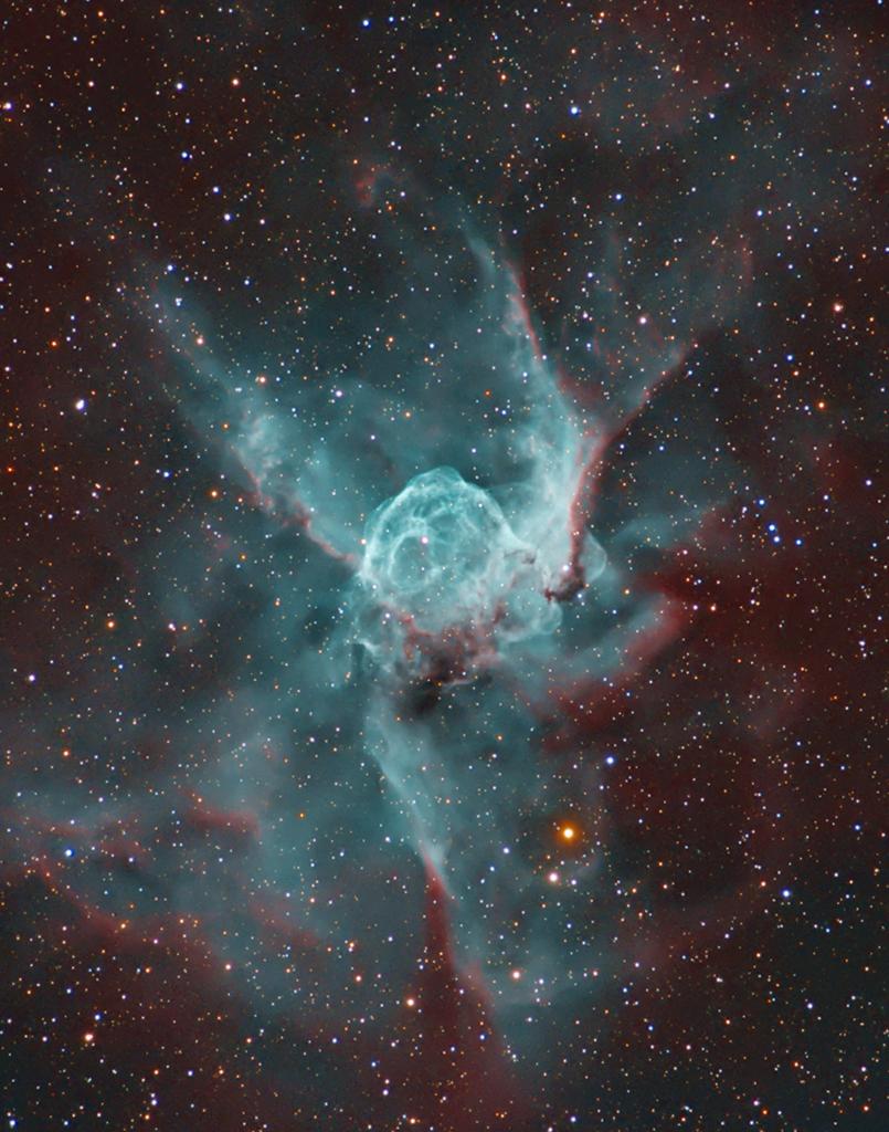 NGC 2359 : La nébuleuse du Casque de Thor