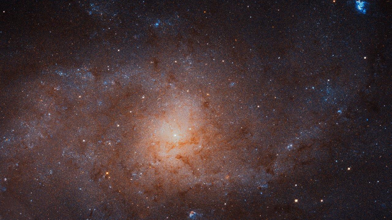 Les étoiles de la galaxie du Triangle