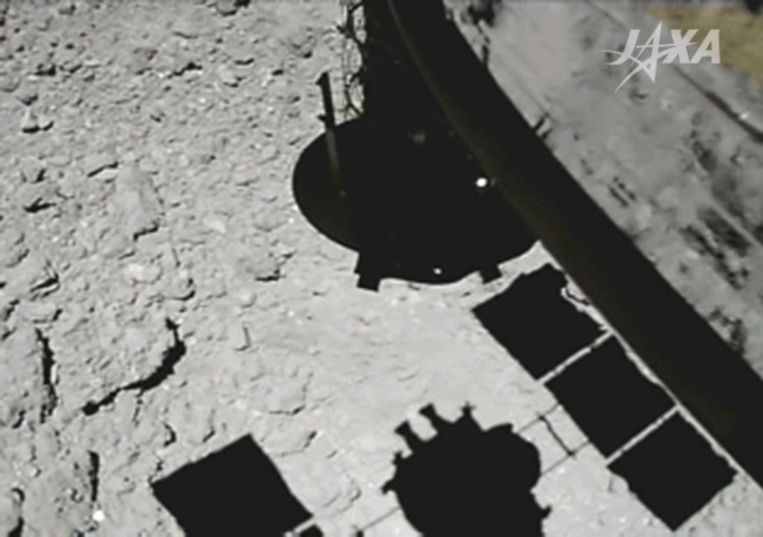 Atterrissage sur l'astéroïde Ryugu