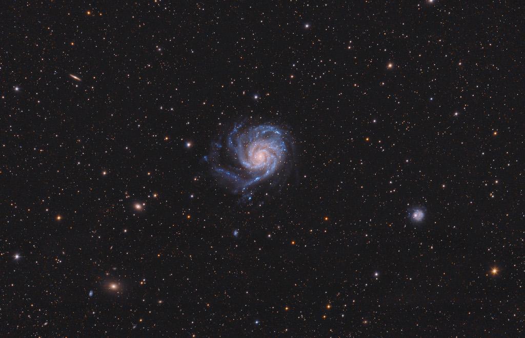 Vue sur M101