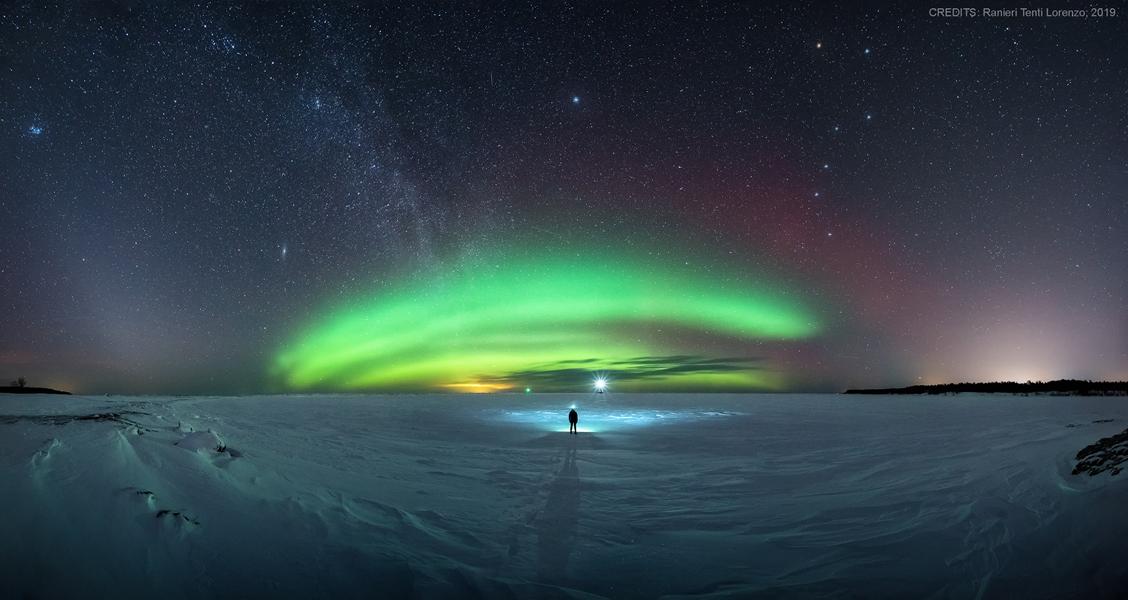 Une symphonie dans le ciel nordique