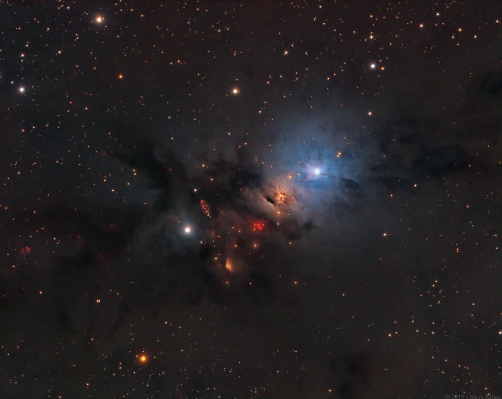 NGC 1333 : Pépinière stellaire au sein de Persée