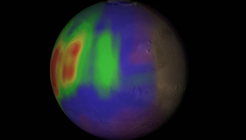 Le mystère du méthane martien s'approfondit