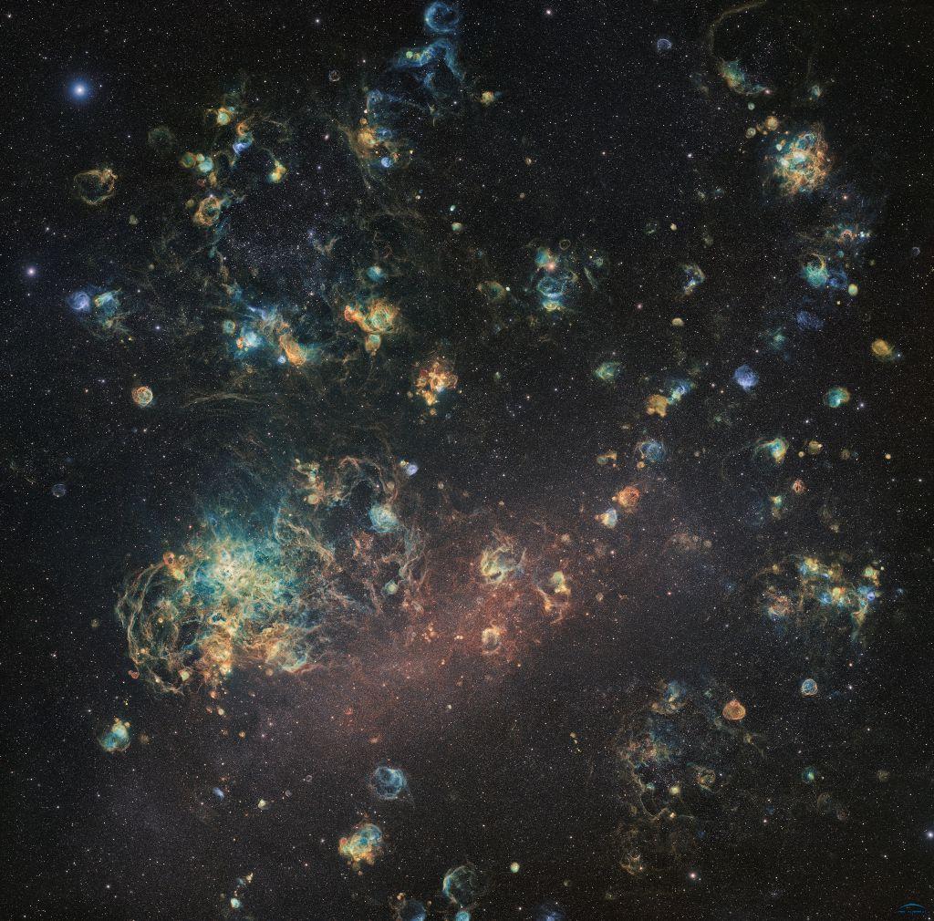Les nuages du Grand Nuage de Magellan