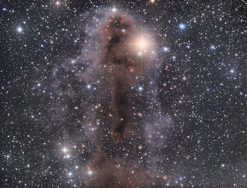 La sombre nébuleuse de Lynds (LDN 1251)