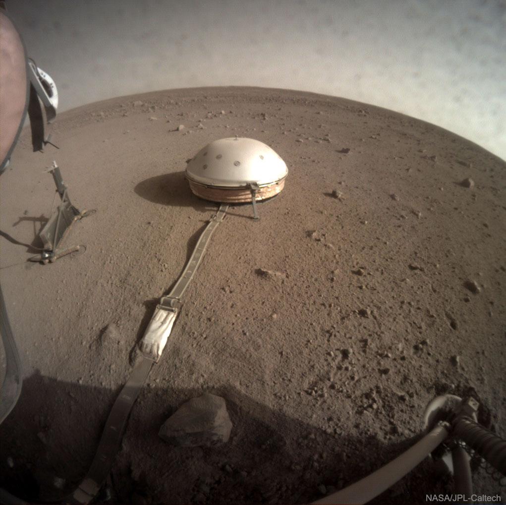 SEIS : À la recherche des tremblements de terre sur Mars