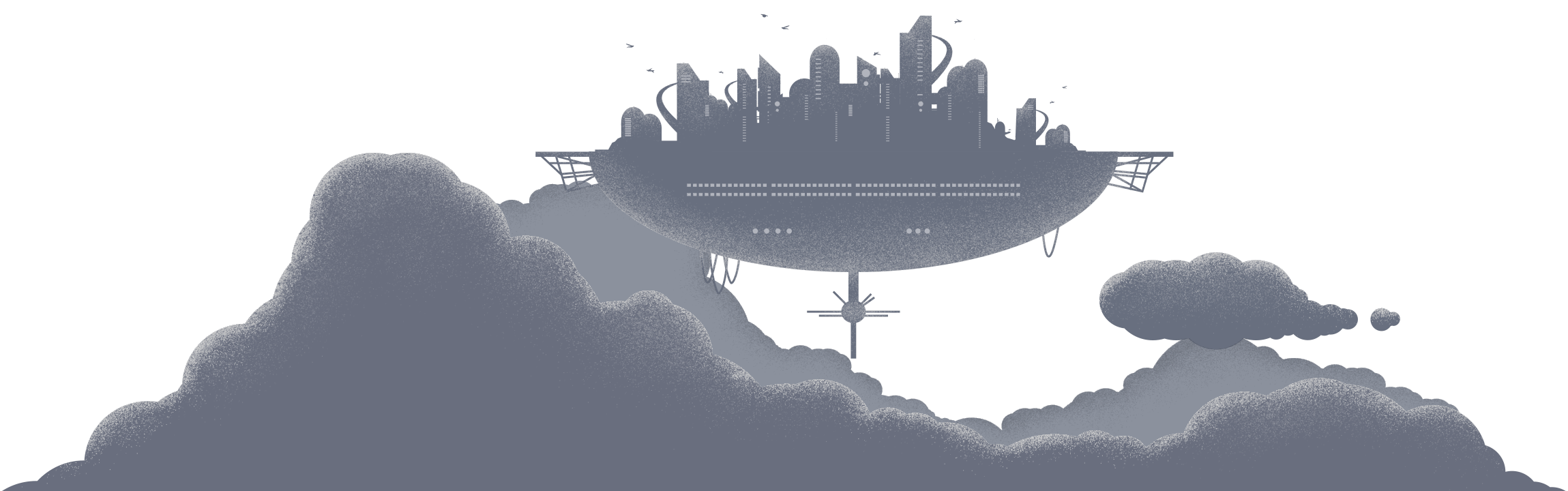 a city in the clouds