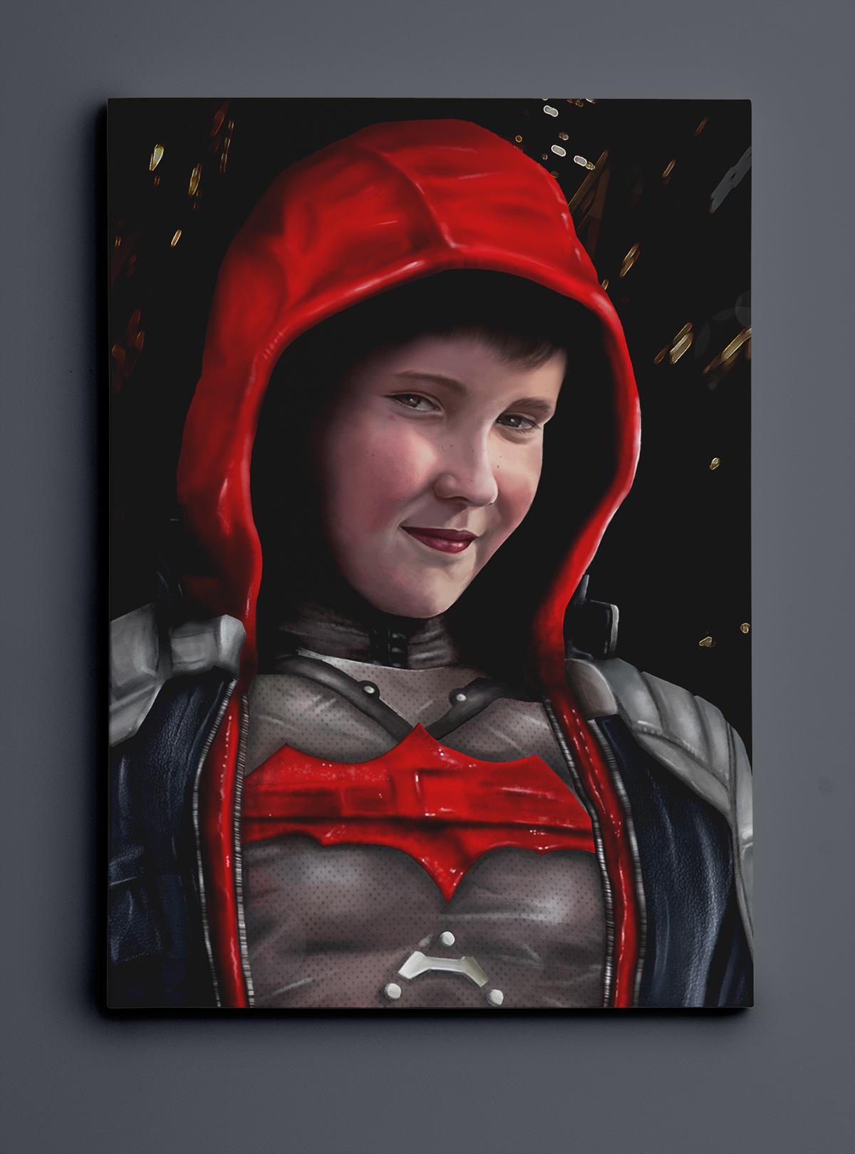sean as the red hood