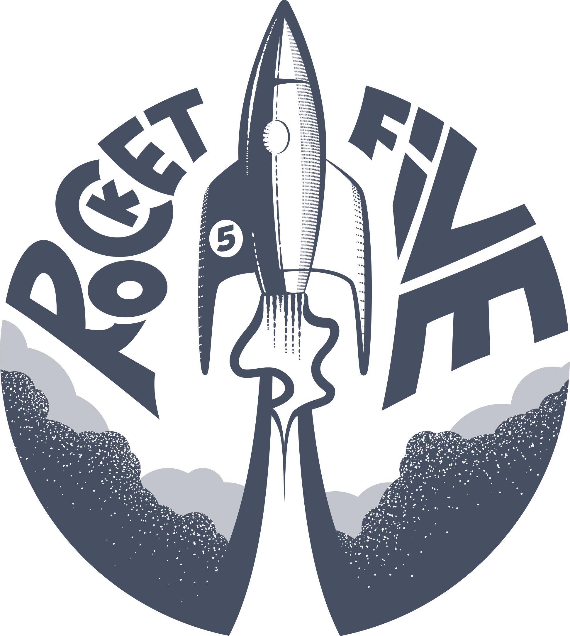 rocket five footer logo