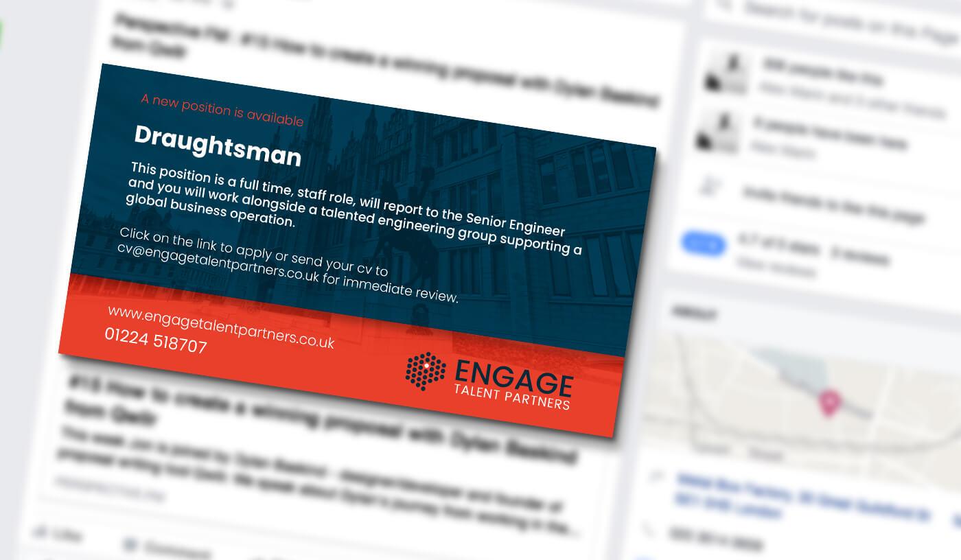 engage talent social media