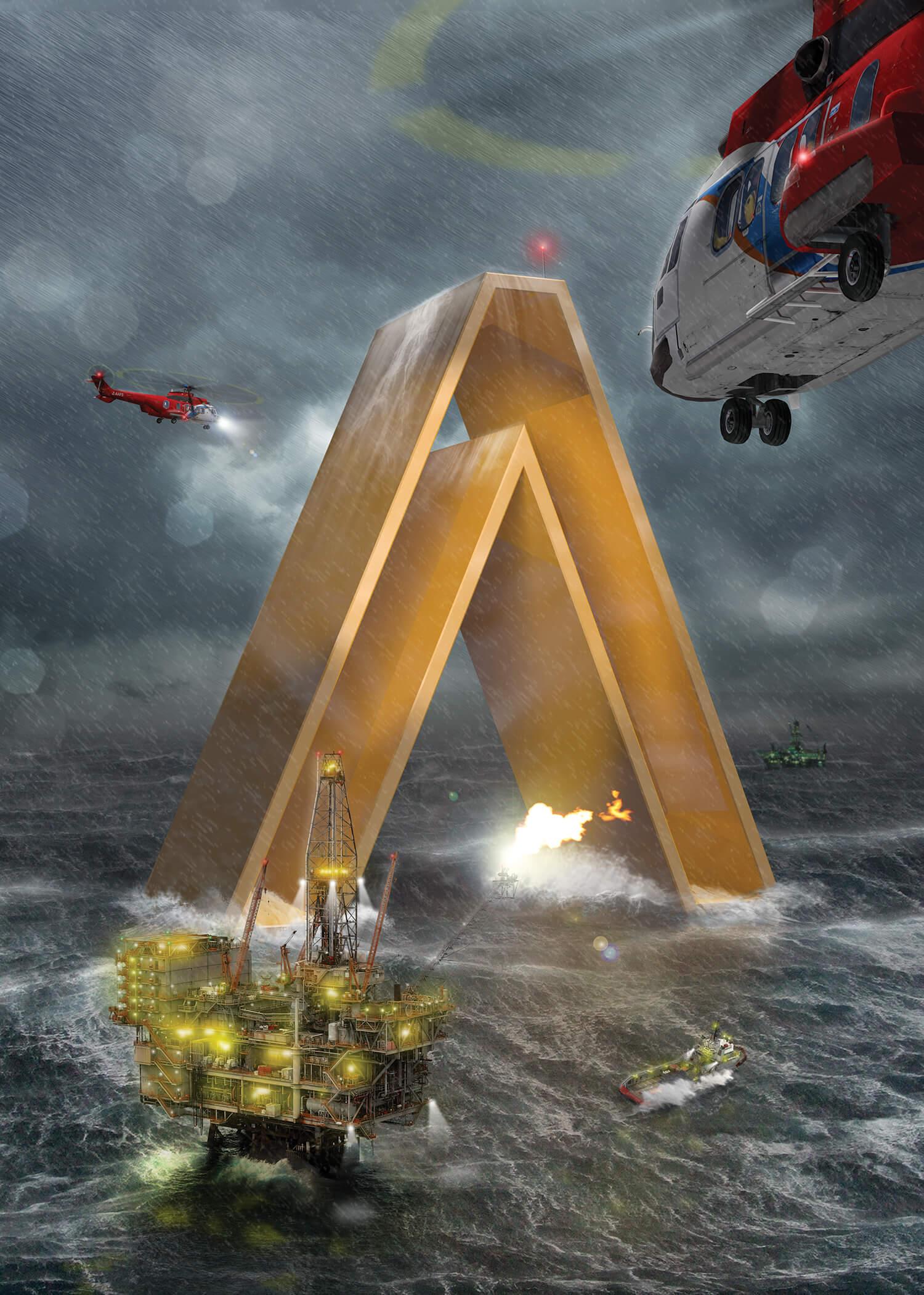 atlas stormy seas
