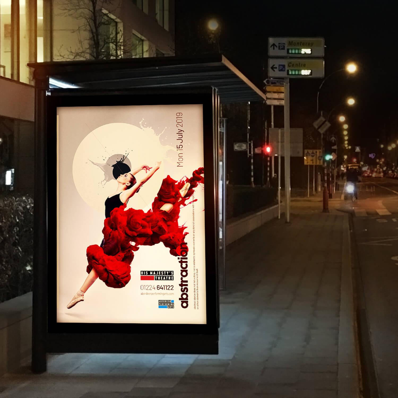 dancer bus stop