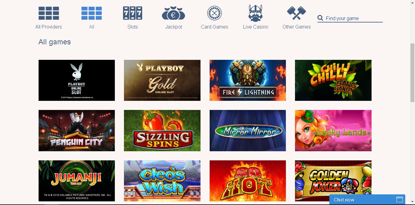 konung casino slots