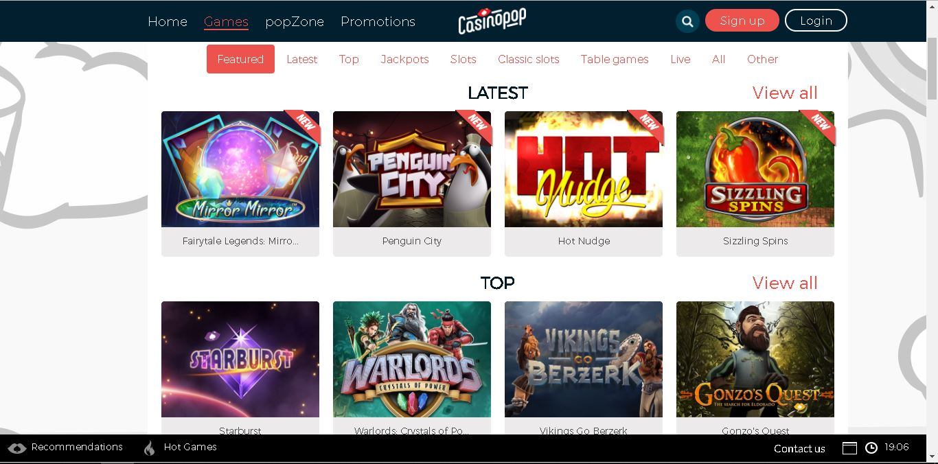 casinopop slots