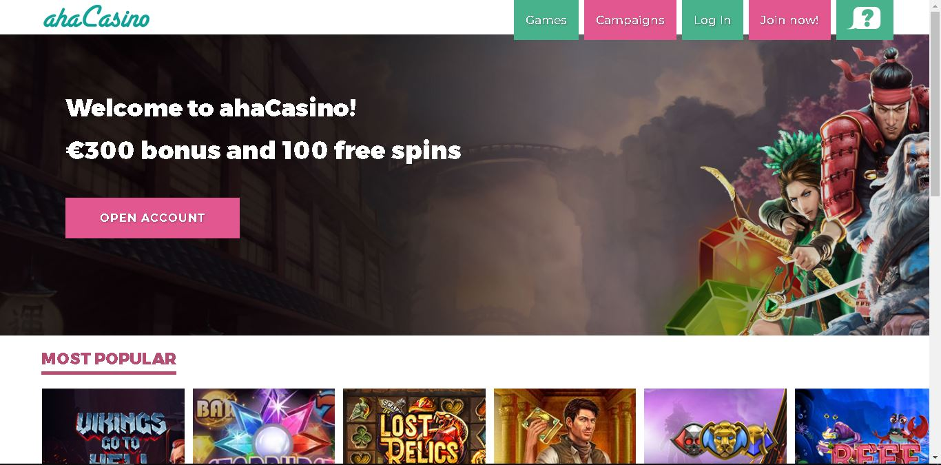 Ahacasino Online Casino Review And Bonus Aboutslots Random Number Generator Based Game Ssl Encryption Rng For All Games Personal Financial Information Protection