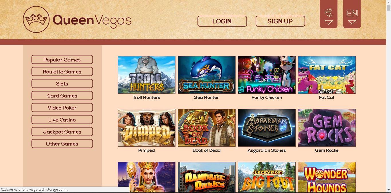 queen vegas casino slots