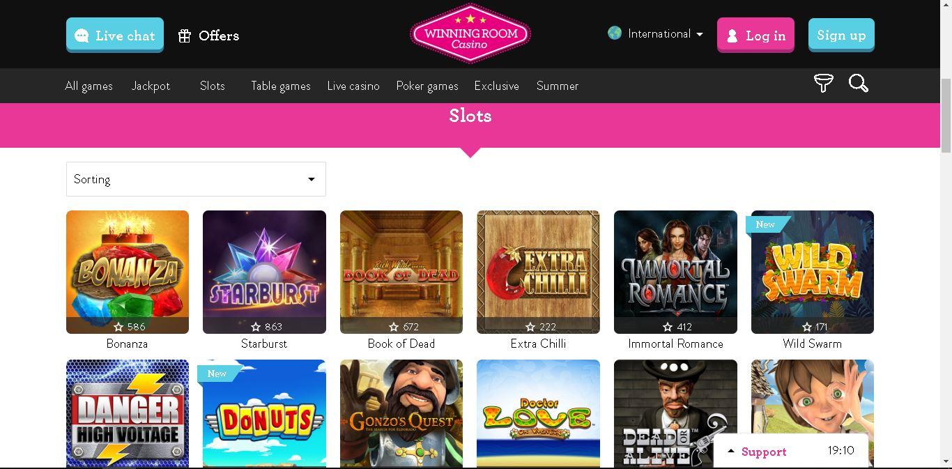 winningroom casino slots